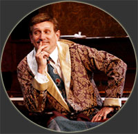 David in 'The Man Who Came to Dinner' at The Surflight Theatre